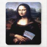 Regalos de cumpleaños clásicos de Mona Lisa Alfombrilla De Ratón
