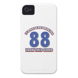 regalos de cumpleaños de 88 años iPhone 4 Case-Mate fundas