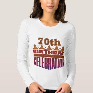 Regalos de cumpleaños de la celebración del remera