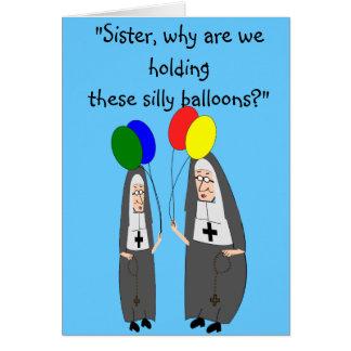 Regalos de cumpleaños de la monja felicitaciones