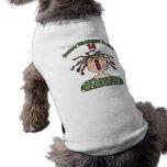 Regalos de cumpleaños de la muñeca de trapo 14tos camisetas de perrito