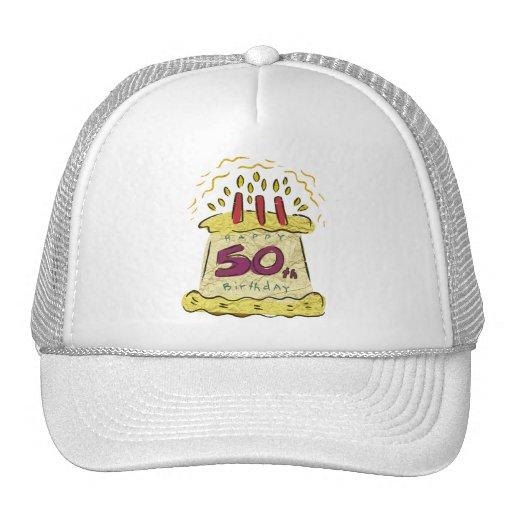 Regalos de cumpleaños de la torta de cumpleaños gorras