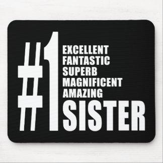 Regalos de cumpleaños de las hermanas: Hermana del Mouse Pads