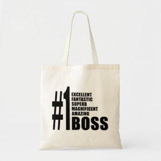 Regalos de cumpleaños de los jefes: Número uno Bos Bolsa De Mano