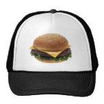 Regalos de cumpleaños del cheeseburger gorras de camionero
