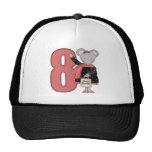Regalos de cumpleaños del ratón de las compras 8vo gorras de camionero