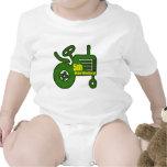 Regalos de cumpleaños del tractor de granja 5tos trajes de bebé