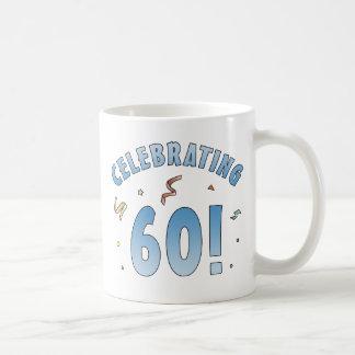 Regalos de cumpleaños festivos de la diversión 60 tazas