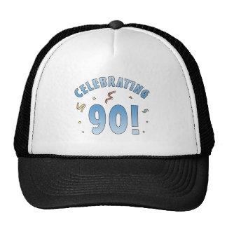 Regalos de cumpleaños festivos de la diversión 90. gorro de camionero