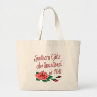 Regalos de cumpleaños para los chicas meridionales bolsa tela grande