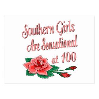 Regalos de cumpleaños para los chicas meridionales tarjetas postales