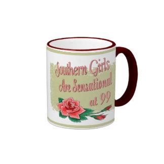 Regalos de cumpleaños para los chicas meridionales tazas de café