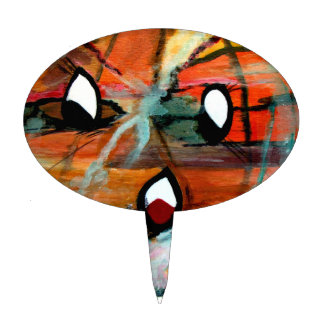 Regalos de FunnySunFaces Halloween de MClairArt Figura De Tarta