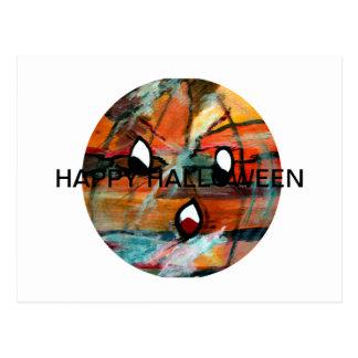 Regalos de FunnySunFaces Halloween de MClairArt Postal