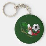Regalos de Futbol de los aficionados al fútbol del Llavero Redondo Tipo Pin