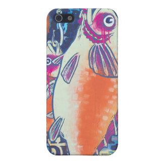 Regalos de Howell del caso del iPhone 4 del pescad iPhone 5 Protector