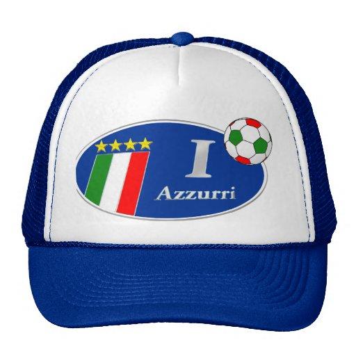 Regalos de Italia del italiano de Azzurri Italia Gorros Bordados