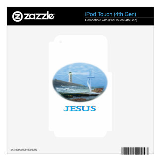 Regalos de Jesús Calcomanía Para iPod Touch 4G