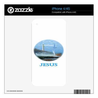 Regalos de Jesús Calcomanías Para El iPhone 4S