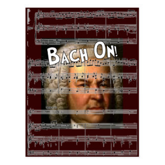 Regalos de Juan Bach Postal