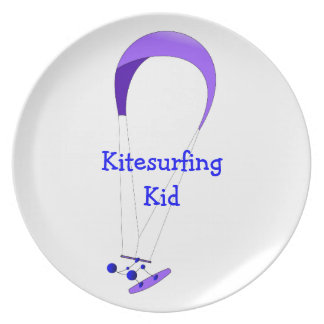 Regalos de Kiteboarding Kitesurfing Platos