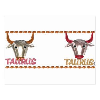 Regalos de la amistad del zodiaco del tauro del ta postales