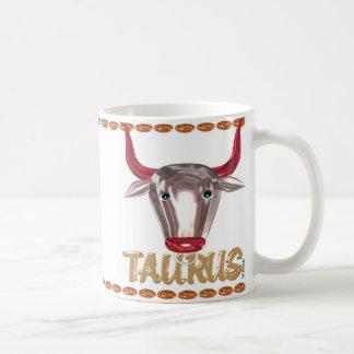 Regalos de la amistad del zodiaco del tauro del ta tazas de café