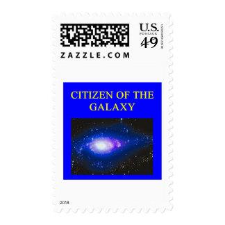 regalos de la astronomía sello postal