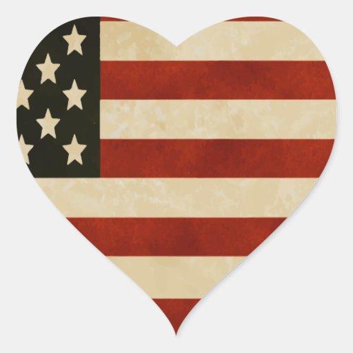 REGALOS de la bandera americana del vintage