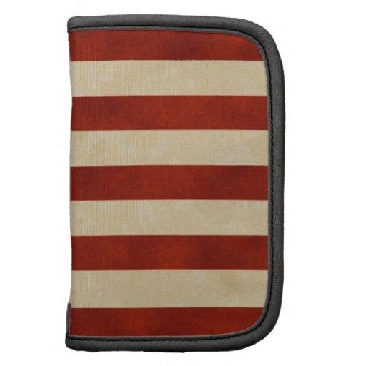 REGALOS de la bandera americana del vintage Organizador