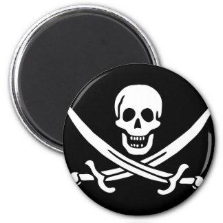 Regalos de la bandera de pirata imanes para frigoríficos