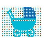 Regalos de la cadera del diseño del carro de bebé postales