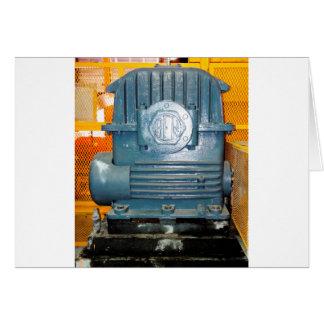Regalos de la caja de engranajes tarjeta de felicitación