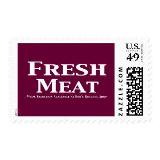 Regalos de la carne fresca sellos