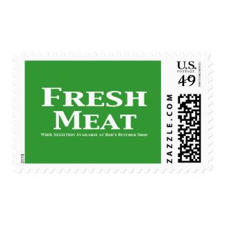 Regalos de la carne fresca franqueo