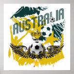 Regalos de la celebración de los socceroos del gru posters