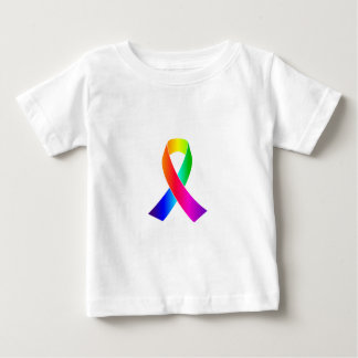 Regalos de la cinta del arco iris de la conciencia playera para bebé