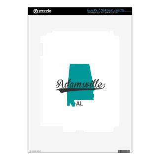 Regalos de la ciudad del AL de Adamsville Alabama Pegatinas Skins Para iPad 3