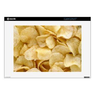 Regalos de la comida basura de las patatas fritas skins para portátiles