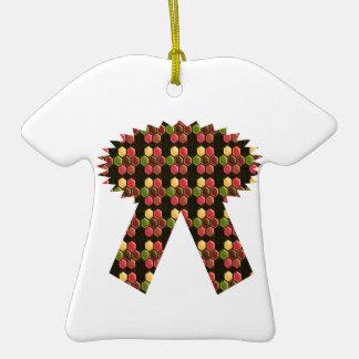 Regalos de la DIVERSIÓN de Deco NVN284 del Adorno De Cerámica En Forma De Camiseta