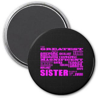 Regalos de la diversión para las hermanas La herm Imanes De Nevera