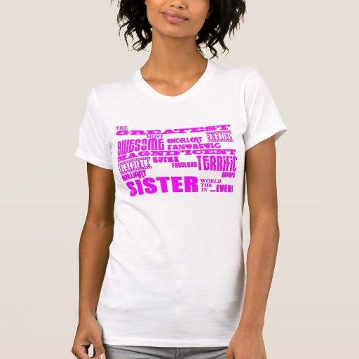 Regalos de la diversión para las hermanas: La herm Camisetas