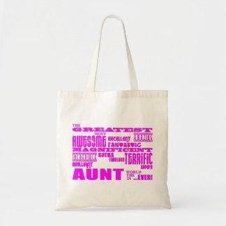 Regalos de la diversión para las tías: La tía más  Bolsa Tela Barata