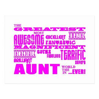 Regalos de la diversión para las tías: La tía más Postal