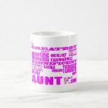 Regalos de la diversión para las tías: La tía más  Taza De Café