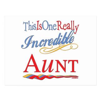 Regalos de la diversión para las tías postales