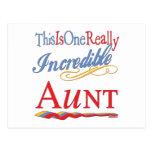 Regalos de la diversión para las tías tarjeta postal