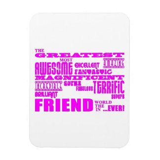 Regalos de la diversión para los amigos El amigo Imanes Flexibles