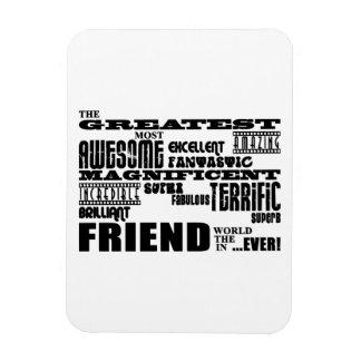 Regalos de la diversión para los amigos El amigo Imanes De Vinilo