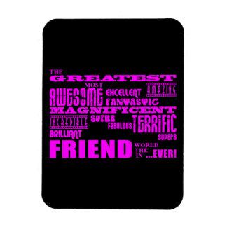 Regalos de la diversión para los amigos El amigo Imán Flexible